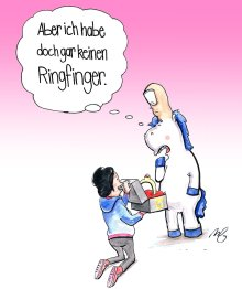 Stinkefingereinhorn - Michi Brezel