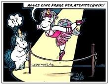 Stinkefingereinhorn - Ines Asser