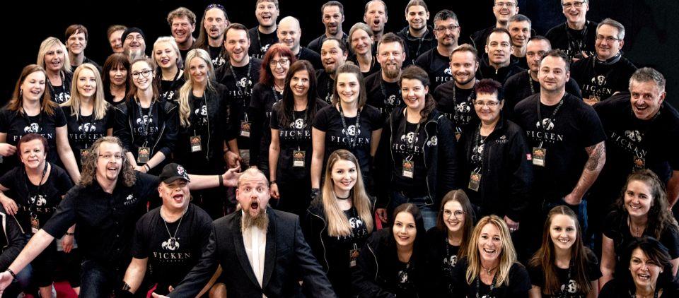 Unser mega cooles Team ist der Hammer - wie man sieht!